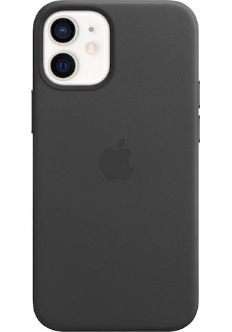 Apple Smartphone-Hülle »iPhone 12 mini Leder Case mit MagSafe« kaufen