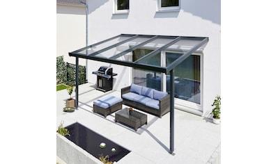 GUTTA Terrassendach »Premium«, BxT: 410x306 cm, Dach Sicherheitsglas klar kaufen