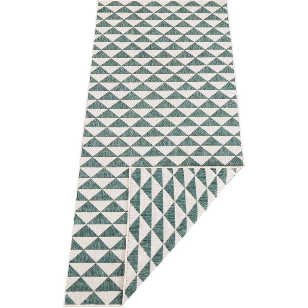 bougari Läufer »Tahiti«, rechteckig, 5 mm Höhe, In- und Outdoor geeignet, Wendeteppich