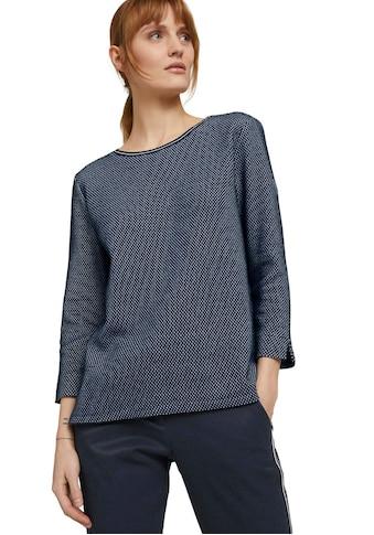 TOM TAILOR Sweater, mit Seitenschlitzen an Saum und Ärmel kaufen