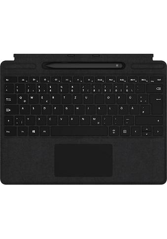 Microsoft »Surface Pro X Signature Keyboard Bundle mit Slim Pen« Tastatur kaufen