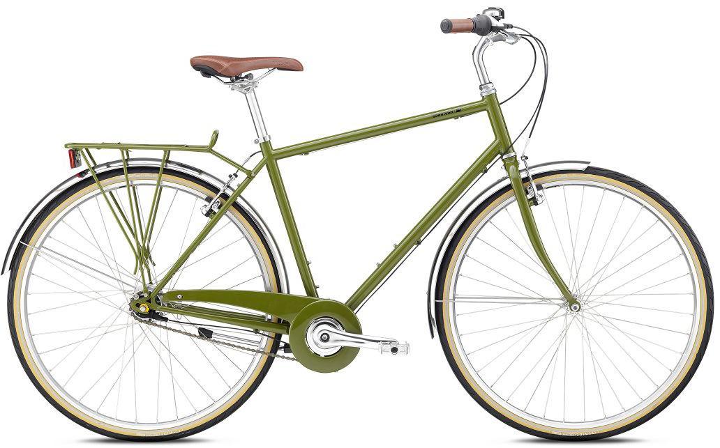BREEZER Bikes Urbanbike »Downtown 7«, 7 Gang Nabenschaltung