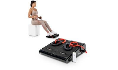 Christopeit Sport® Vibrationsplatte »Vibro 1000«, 10 Intensitätsstufen 60 Watt (mit Trainingsbändern) kaufen