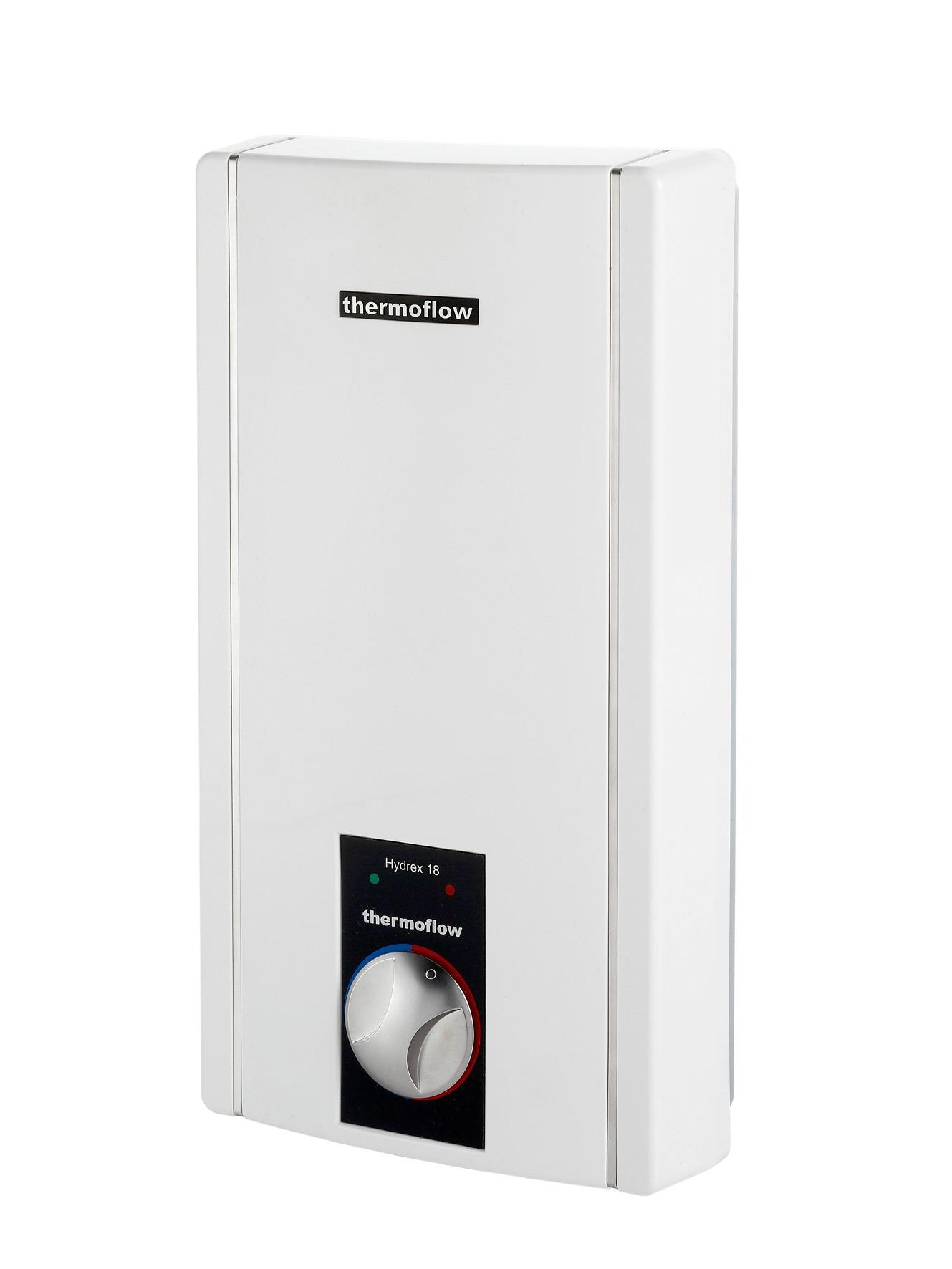 THERMOFLOW Durchlauferhitzer »Thermoflow Hydrex 18/21/24« | Baumarkt > Heizung und Klima > Durchlauferhitzer | Weiß | THERMOFLOW