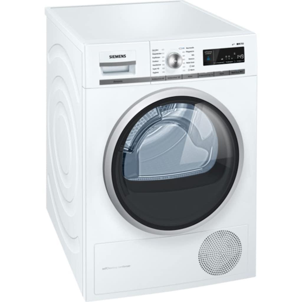 SIEMENS Wärmepumpentrockner »WT47W5W0«, iQ700