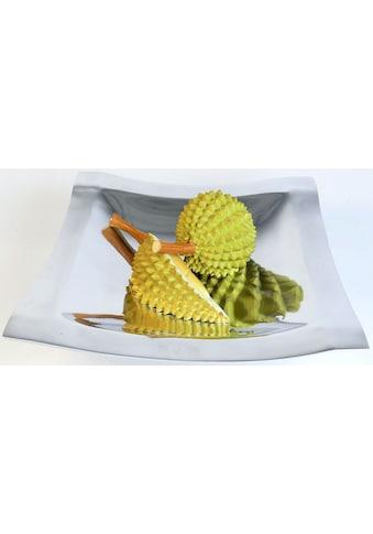 ARTRA Dekoschale »Aluminiumschale 'Bowl Square' L -Dekoration, Tischschale« kaufen