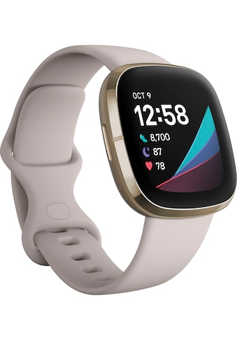 "fitbit Smartwatch »Sense« (4,32 cm/1,7 "", FitbitOS5, inkl. 6 Monate Fitbit Premium kaufen"