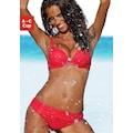 s.Oliver Push-Up-Bikini, mit Zierring an der Hose