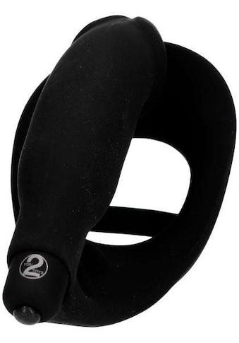 BLACK VELVETS Penisring »BV Ring + Vibro-Analplug« kaufen