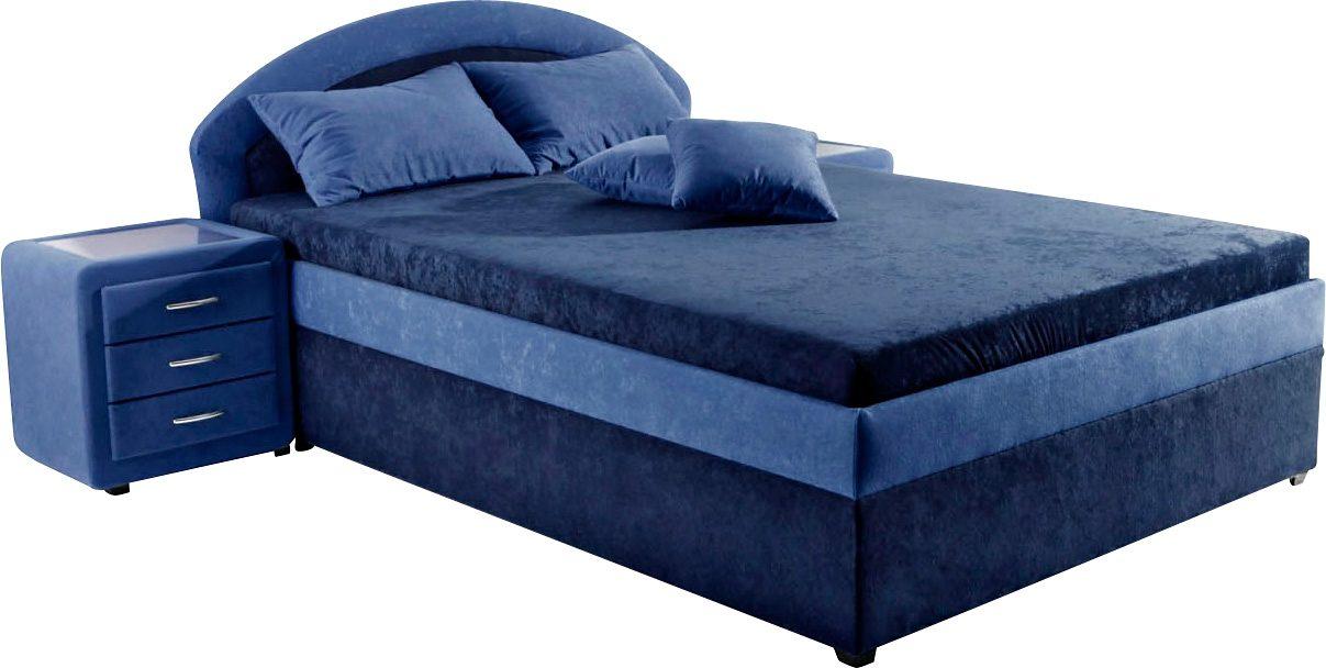 Maintal Polsterbett | Schlafzimmer > Betten > Polsterbetten | Blau | MAINTAL