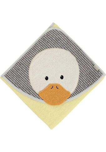 Sterntaler® Badetuch »Edda«, (1 St.), mit Entenkopf kaufen