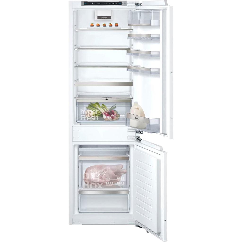 SIEMENS Einbaukühlgefrierkombination »KI86SADD0«, iQ500