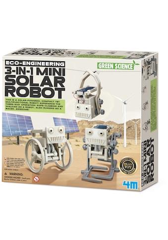 4M Experimentierkasten »Green Science - 3in1 Mini Solarroboter« kaufen