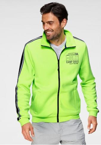 CAMP DAVID Sweatshirt, mit Logobrustprint kaufen