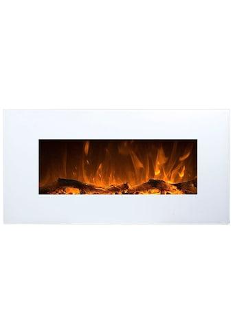 Heathus Elektrokamin »Husum«, künstliches Feuer mit zuschaltbarem Heizlüfter:... kaufen