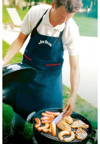 Jim Beam BBQ Grillschürze, mit Taschen kaufen