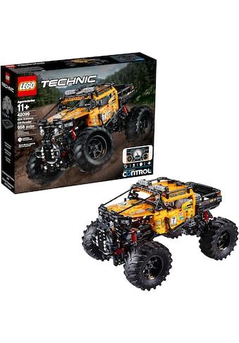 LEGO® Konstruktionsspielsteine »Allrad Xtreme-Geländewagen (42099), LEGO® Technic«, (958 St.) kaufen