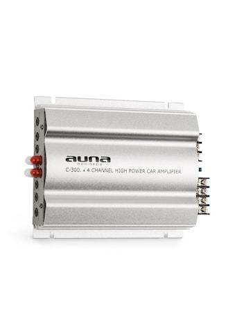 Auna 4 - Kanal - Verstärker Auto - Endstufe 4x200 W Musik / 4x100 W RMS »C300.4« kaufen