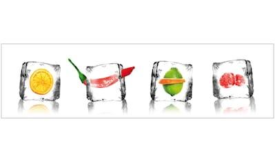 Küchenrückwand  -  Spritzschutz »profix«, Eisfrüchte, 220x60 cm kaufen