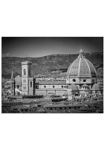 Artland Glasbild »Florenz Piazzale Michelangelo«, Italien, (1 St.) kaufen