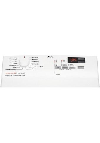 AEG Waschmaschine Toplader, L6TBA41460, 6 kg, 1400 U/min kaufen