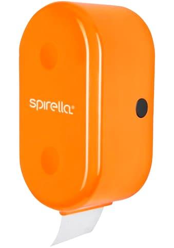 spirella Toilettenpapierhalter »CUBE«, mit Ersatzrollenhalter, grün kaufen