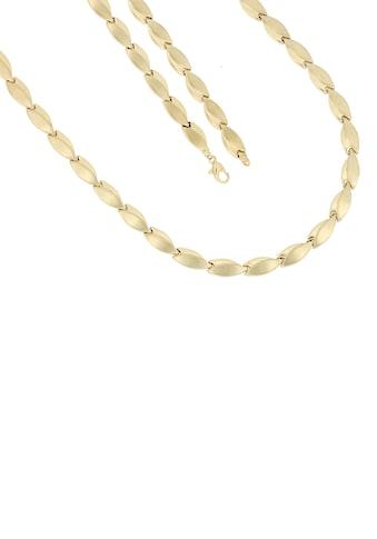 Firetti Goldkette »Stampatokettengliederung, 7 mm breit, glänzend, satiniert« kaufen