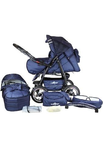 """bergsteiger Kombi - Kinderwagen """"Rio, marine blue, 3in1"""", (10 - tlg.) kaufen"""