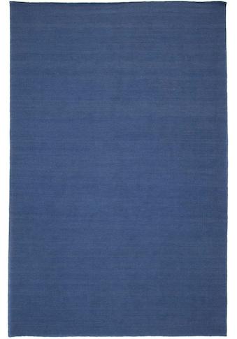 Wollteppich, »KELIM FANCY UNI«, morgenland, rechteckig, Höhe 7 mm, handgewebt kaufen