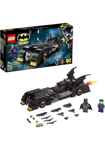 "LEGO® Konstruktionsspielsteine ""Batmobile™: Verfolgungsjagd mit dem Joker™ (76119), LEGO® DC Comics Super Heroes"", Kunststoff, (342 - tlg.) kaufen"