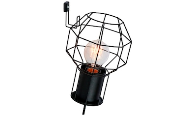 Brilliant Leuchten Wandleuchte »Siza«, E27, 1 St., Wandlampe Zuleitung schwarz kaufen