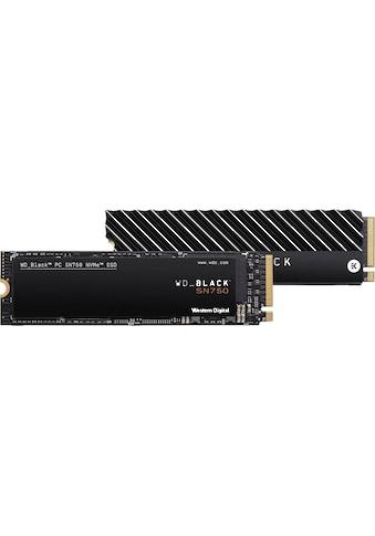 WD_Black Gaming-SSD »SN750 NVMe SSD Heatsink«, mit Kühlkörper kaufen