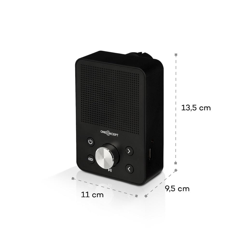 ONECONCEPT Steckdosen-Radio, UKW-Tuner, USB, BT, sc