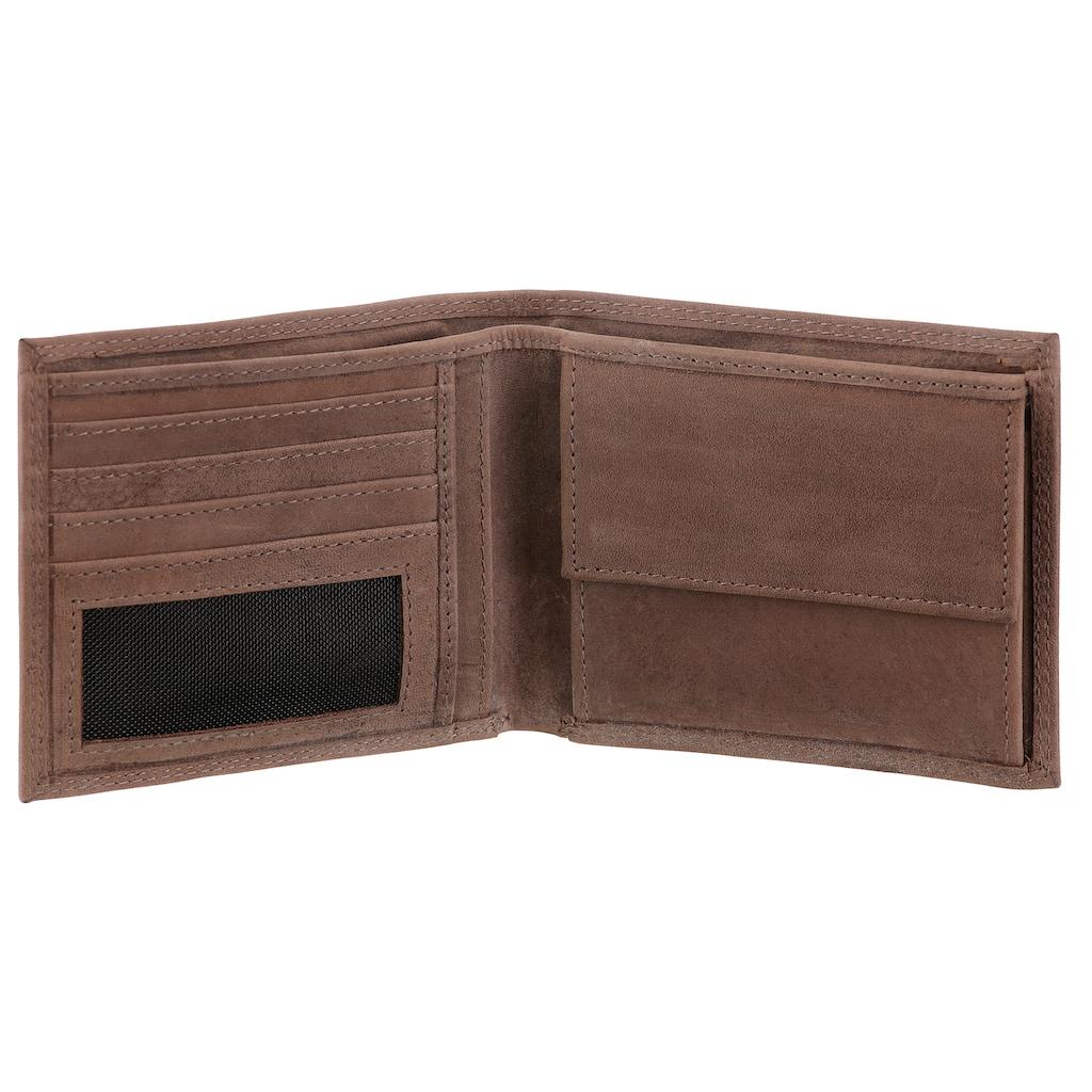 H.I.S Geldbörse, aus hochwertigem Leder