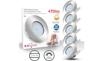 B.K.Licht,LED Einbauleuchte»Iris V«, kaufen