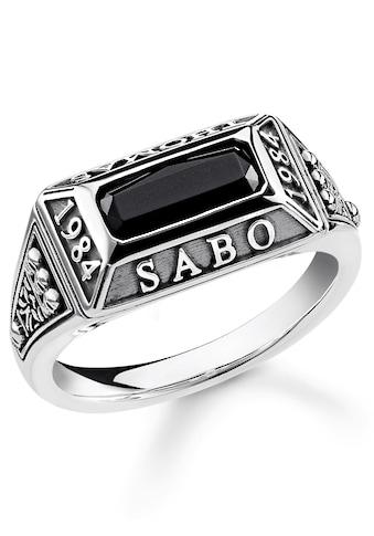 THOMAS SABO Silberring »College Ring, TR2243 - 698 - 11 - 48, 50, 52, 54, 56, 58, 60, 62« kaufen