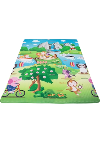 Andiamo Kinderteppich »Spielmatte«, rechteckig, 8 mm Höhe, Bilder sehen - Wörter lernen kaufen