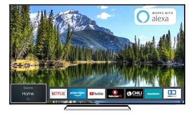 Toshiba LED - Fernseher (65 Zoll, 4K UHD, Smart TV, Triple - Tuner) »65VL5A63DG« kaufen