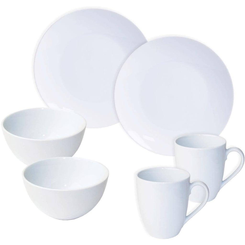 nurso Frühstücks-Set »Mona«, (Set, 6 tlg.)