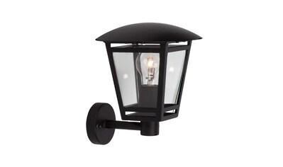 Brilliant Leuchten Riley Außenwandleuchte stehend schwarz kaufen