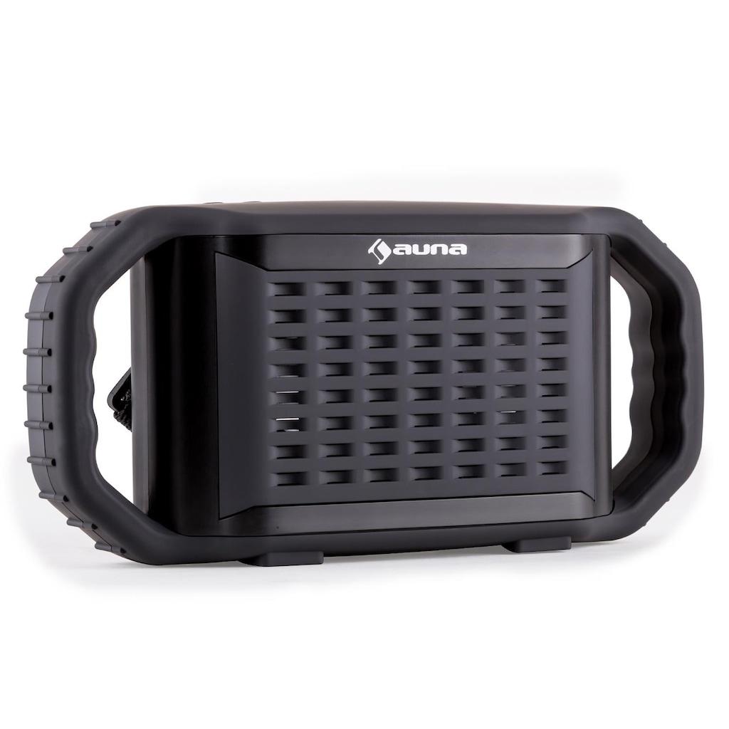 Auna Bluetooth Lautsprecher wasserdicht stoßfest USB MP3 AUX Mikrofon »Poolboy«