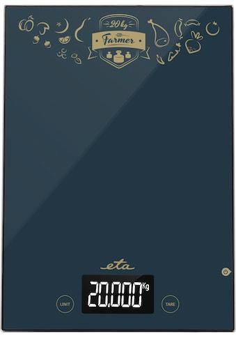 eta Küchenwaage »FARMER ETA477790000«, (1 tlg.), Touch-Display, TARE... kaufen
