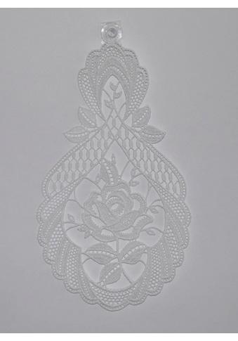 Stickereien Plauen Fensterbild »Rosentraum« kaufen