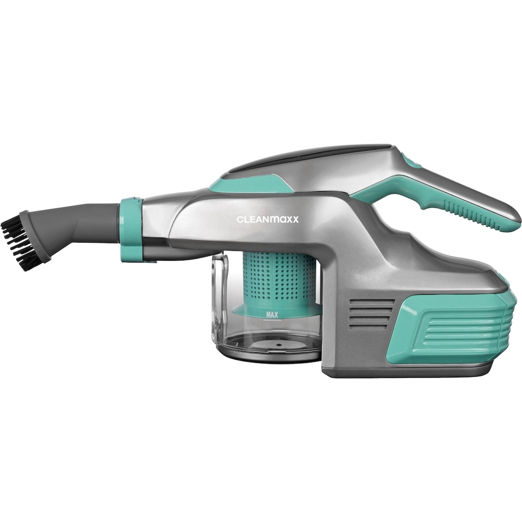 CLEANmaxx Akku-Hand-und Stielstaubsauger »2.0 14,8V türkis/grau«