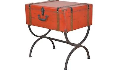 Home affaire Beistelltisch »Koffer« kaufen