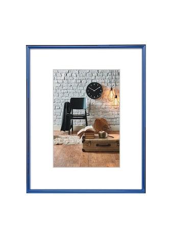 """Hama Kunststoffrahmen """"Sevilla"""", Blau, Polystyrol, 40 x 50 »Kunststoff - Bilderrahmen« kaufen"""