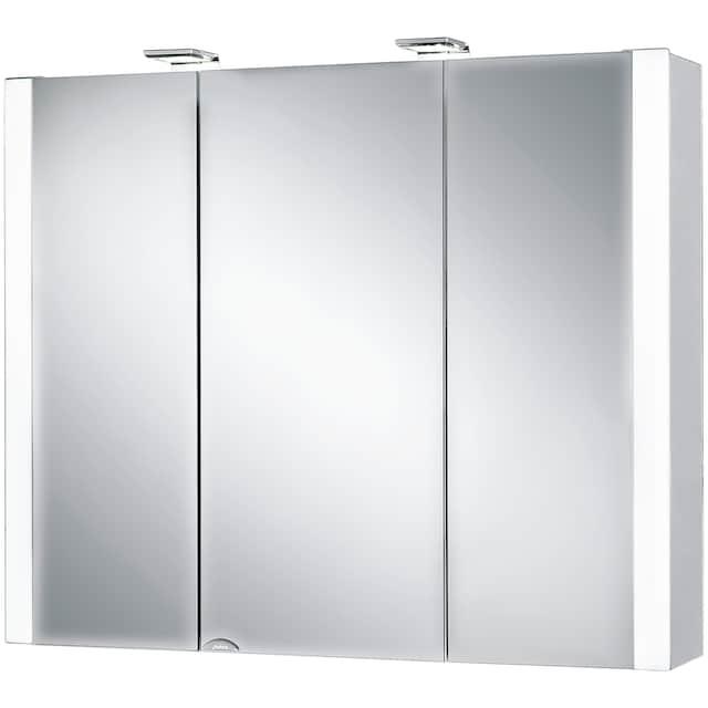 Jokey Spiegelschrank »Jarvis« Breite 80 cm, mit LED-Beleuchtung