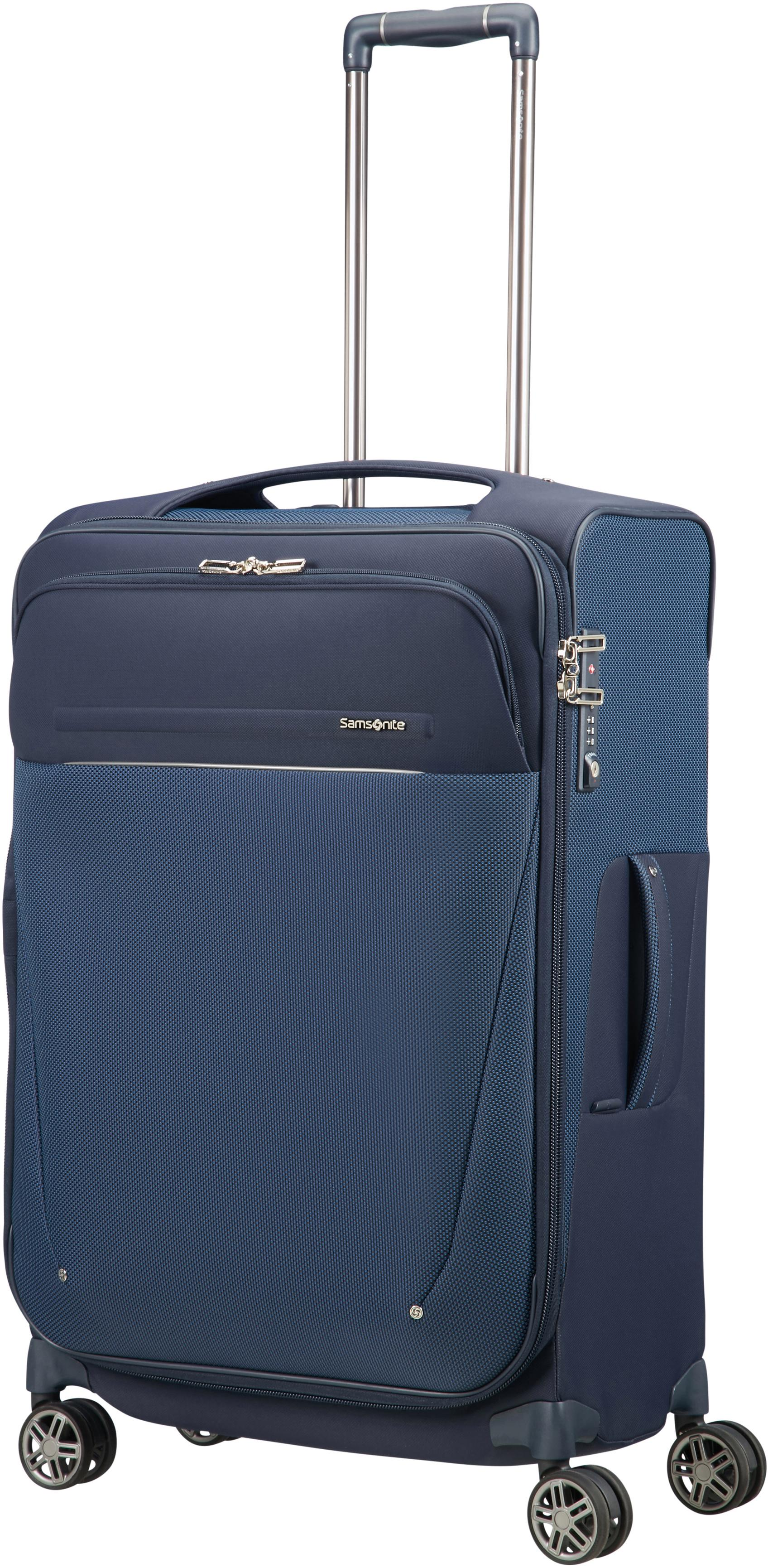 Samsonite Weichgepäcktrolley mit 4 Doppelrollen, »B-Lite Icon Spinner, 71 cm« | Taschen > Koffer & Trolleys > Trolleys | Blau | Samsonite