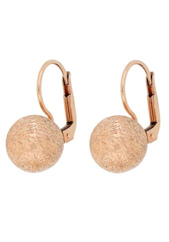 Firetti Paar Ohrhänger »Kugeln, punkt - /eisdiamantiert, rosévergoldet« kaufen