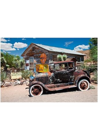 Art & Pleasure Acrylglasbild »Desert car«, Autos kaufen